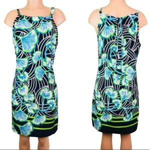 Crown & Ivy sleeveless floral dress size M